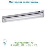 Настенный светильник Lucide LUKA Armatur fur kasten unterbau T5/13W Silber Gra 79154/13/36