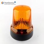 Маяк импульсный, питание 12 Вольт, диаметр основания 175 мм, лампа 55 Ватт с цоколем H1
