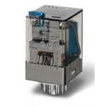 Универсальное электромеханическое реле; монтаж в розетку 11-штырьковый разъем, 3CO 10A, 601382300040, Finder