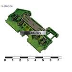 Клеммные колодки на динрейку JUT3-2.5/2-2PE (от 20 шт.)