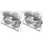 PSM Lighting alu satin 953.14, накладной светильник > Spotlights