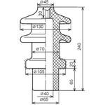 Изолятор ИПТ-6-10/250А.01