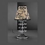 La Lampada TL 111/P.02 Black+Trans 111, Лампа настольная