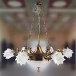 Nervilamp 2080/6+2 Gold Bronze 2080, Люстра