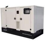 Дизель-генераторная установка GMJ130 в щумозащитном кожухе SILENT