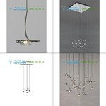 Catellani & Smith nickel/blue EJO6Q02, подвесной светильник