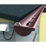 Саморегулирующийся греющий кабель для водостока 40 Вт (35 метров) готовая секция