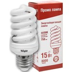 Лампа энергосберегающая КЛЛ 15/840 Е27