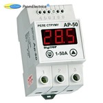 Реле тока от 1 до 50 Ампер с встроенным цифровым индикатором АР-50 DigiTOP