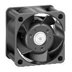 DC осевой компактный вентилятор 412 JHH