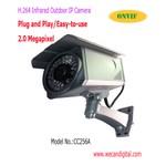 H.264 миллион пиксел напольная инфракрасного IP Камера
