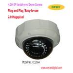 H.264 Ультракрасно Купол POE IP Камера