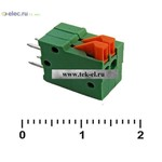 Клеммники нажимные XY123V-2 (2,54 mm) (от 500 шт.)