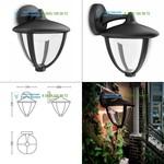 Philips black 154713016, Led lighting > Outdoor LED lighting > Wall lights > Surface mounted