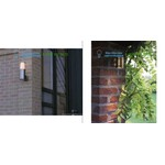 790A.E2.04 Bel Lighting stainless steel, Outdoor lighting > Wall lights > Surface mounted