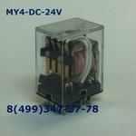 MY4 DC24V Реле 4 группы 5 Ампер