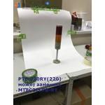 Светосигнальная колонна d=86мм, лампа накаливания, стойка 200мм, постоянное/мигающее свечение, зуммер