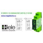 E1ZM10 12-240VAC/DC (VE10) (110100) Реле времени многофункциональное