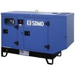 Дизель-генераторная установка фирмы SDMO  T25KM в кожухе