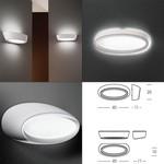 Linea Light светильник New Gesso Wall Light, 2G11 1x24W