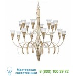 1818/16 Bianco oro / Glass 414 люстра Masca