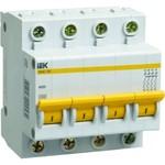 Автоматический выключатель ВА47-29 4P,  на 6А, 8А, 10А