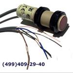 E3F2-R4B4 Фотоэлектрический датчик, пластик, M18, зона срабатывания 4 м, без рефлектора, PNP, 30 Вт DC,E3F2-R4B4-E Omron