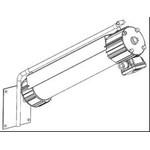 Аварийный (аккумуляторный) взрывозащищенный светильник ЛСП66 Ех 2х18 АО-3 (1 час)