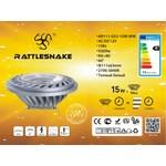 "Светодиодная лампа ""Rattlesnake"" AR111-G53-15W-WW, на 12 Вольт"