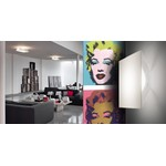 Studio Italia Design светильник Beetle Pyramid wall/ceiling light, LED 17W