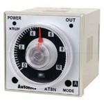 AT8N 24-240VAC/VDC Аналоговый таймер 0.05sec ~ 100hours, W48 X H48 X L65mm, выход 2С