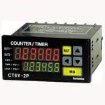 CT6Y-1P4 Цифровой счетчик/таймер, 100-240VAC, индикатор 6 цифр, Autonics