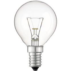 Лампа накаливания Philips Е14  60 Вт шар, Р45CL