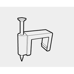 PLFC-14 Скоба электроустановочная плоская (14*6,0)