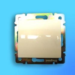 """Выключатель проходной 1 СП """"Valena"""" без рамки белый 774406 STD 6 (Legrand)"""