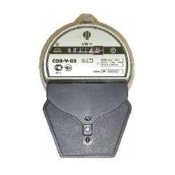 Электросчетчик электронный 1-фазный однотарифный  СОЭ-У-03 Класс точности 1.0, 5-40А Корпус прозрачный