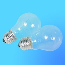 Лампа накаливания Philips Е27  40 Вт (2 шт в упаковке), А55CL