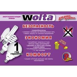 """Энергосберегающая лампа Wolta """"2 дуги"""" 11Вт/E27/2700K/4100K/6400K (Гарантия 12 месяцев)"""