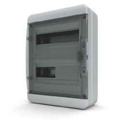 BNK 65-24-1  - щит навесной пластиковый на 24 модуля IP65 (ТЕКФОР) от 1.625 руб. до 1.393 руб