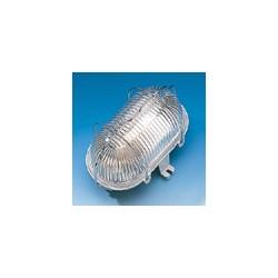 Светильник овальный из изоляционного материала макс. 60 Вт
