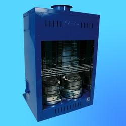 """Печь на жидком топливе """"Дуэт"""" ПО-5,0 кВт/ч, (Солярогаз)"""