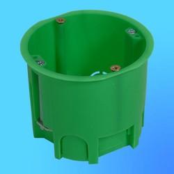 Коробка установочная КУ1205 для полых стен, метал. лапки 68х60 мм(HEGEL)