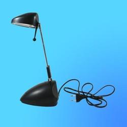 Светильник настольный Camelion KD-117n, G4, черный, тип лампы JC-35Вт