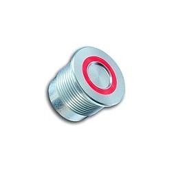 SBR пьезо кнопка со светодиодным кольцом
