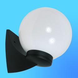 Светильник садово-парковый настенный 60002120 поликорбонат молоч60Вт Е27 IP43 MILKчерн