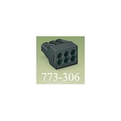 Клемма WAGO (ВАГО) 773-306 (с пастой) 6*2,5 мм2