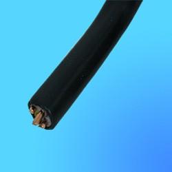Кабель ВВГ 4*2,5 силовой, чёрный, с медными жилами,  для стационарной прокладки, плоский на 660 В