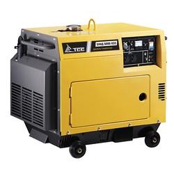 Дизель генератор ТСС ЭЛАД-6000 КЭ3 (трехфазный с электростартом в кожухе)