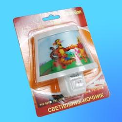 Светильник-Ночник Camelion PVC-008 декоративный 7Вт 230В (120х115х100)