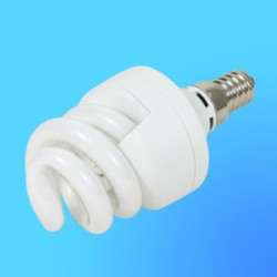 Лампа энергосберегающая Camelion Е-14 7Вт 220B LH-7-Spiral Cool light (спиральная) (4200К)